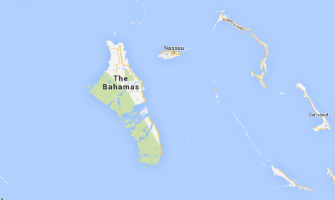 The Bahamas - but it's actually Andros Island