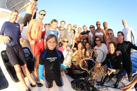 The Dive Against Debris Crew