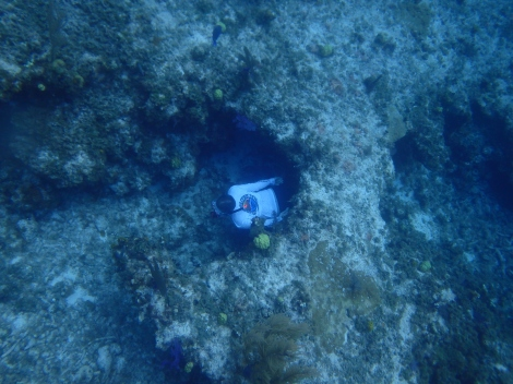 Freediving in San Salvador