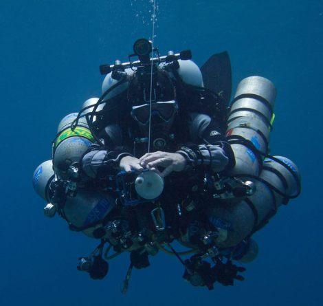 Doc Deep AKA Guy Garman on a deep dive in 2014