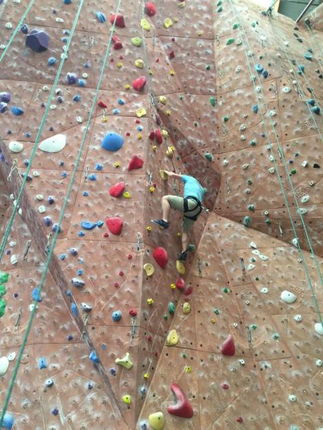 Attempting the 5.10a